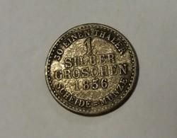 Hessen, 1 ezüst garas 1856.