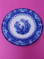 Angol vadászjelenetes kobaltkék tányér  Watteau Doulton