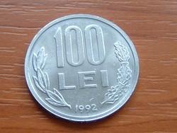 ROMÁNIA 100 LEI 1992 #