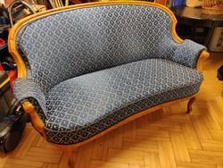 XX. század eleji Neobarokk stílusú ülőgarnitóra