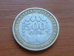NYUGAT AFRIKA 500 FRANK FRANCS 2004 (a) BIMETÁL #