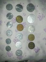 Régi pénz érmék