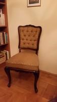 Barokk szék 2 db