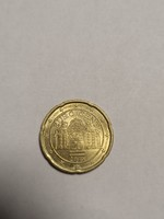 Ritkább euró 20 cent ausztria 2015 ös