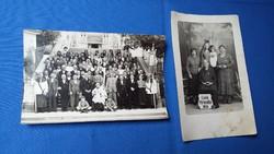 Két fotó / képeslap - Máriacell, 1936.