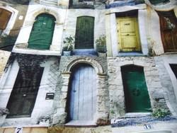 Különleges ajtó és kapu motívumos 100 % pamut ágynemű