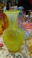 Retro karcagi fátyolüveg váza