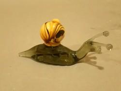 Muránói üveg csiga