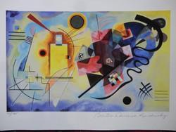 Vaszilij Kandinszkij: Sárga, piros, kék
