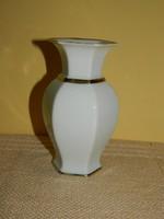 Aranyozott Rosenthal váza.