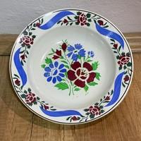 Szép Népi festett Wilhalmsburgi tányér