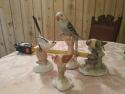 Gyönyörű madár szobrok egyben nègy darab