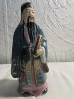 Kinai bőlcs porcelan figura