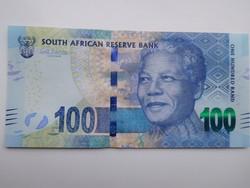 Dél- Afrikai Közt 100 rand 2014 UNC