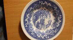 Fontebasso Treviso olasz fajansz tányér, 4db, angol stílusú