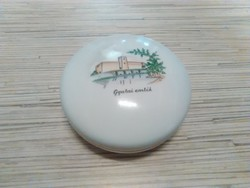 Régi Aquincumi porcelán bonbonier