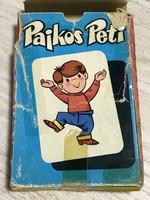 Pajkos Peti gyerekkártya, játék kártya