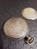 Antik ezüst zsebóratok  sérült