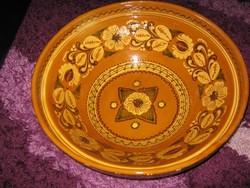 HATALMAS,kerámia tál, Mónus  38 x 13cm  114.