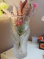 Nagy méretű Ajkai ólomkristály váza