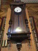 Nagyméretű antik óra! Gyönyörű!