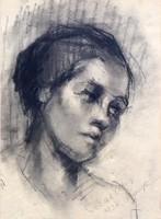 FARKAS ESZTER (1900-1983) KORAI SZÉNRAJZA