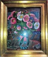 Klie Zoltán :Őszi Rózsák  SZEKSZÁRD, 1897 - 1992, BUDAPEST