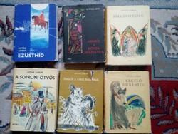 Lipták Gábor dedikált könyvek 6db egyben