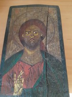 Antik fa ikon 19.sz ból