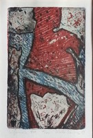 László Beatrix - Létformák III/XV 1999  mérete 15 x 10 cm