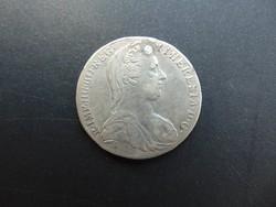 Mária Terézis ezüst tallér 1780 I.C.F.A.