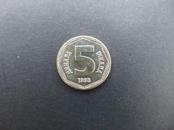 5 dinár 1993 Jugoszlávia