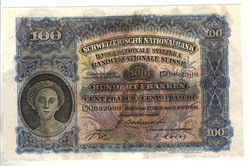 10 frank franken 1946 Svájc