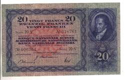 20 frank franken 1946 Svájc