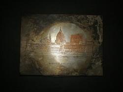Parlamentet ábrázoló ezüstözött doboz - EP