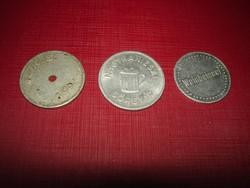 Sörgyári tikettek,zsetonok-1 külföldi
