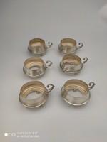 Csodás ezüst kávéskészlet