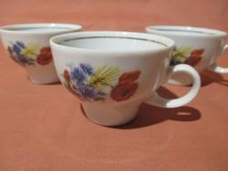3 db Kahla pipacsos kávés csésze