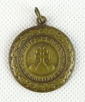 0S897 Antik irredenta sportérem bronzérem 30 mm