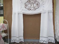 Gyönyörű riselt panoráma függöny
