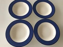 Olasz Pagnossin kerámia tányérok, 4 db