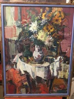 Séday Éva : Virág csendélet
