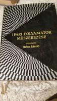 IPARI FOLYAMATOK MŰSZEREZÉSE szakkönyv eladó