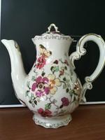 Zsolnay Pillangós kávés kanna fedővel