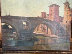 Pap Domonkos : Híd a Tiberisen