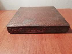 Móga Sándor iparművészeti bronz doboz