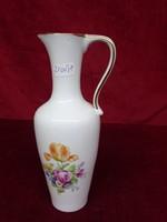 Minőségi német porcelán kancsó, 20 cm magas, vitrin minőség