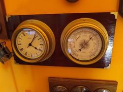 Hajós barométer órával
