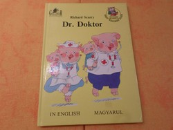 ​Richard Scarry Dr. Doktor IN English Magyarul, 1990