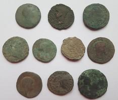 10db Római nagy bronz!